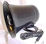 PA Horn Speaker w/Plug & Wire - 5 inch for CB/Ham