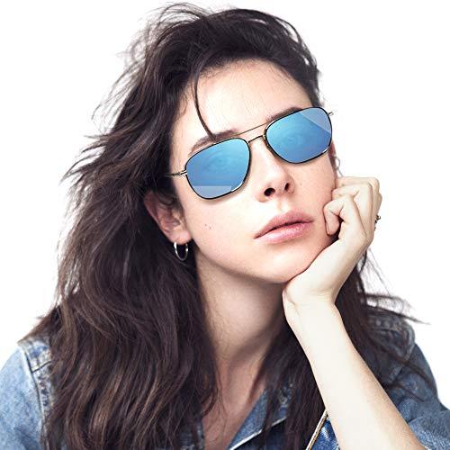 Women Retro Sunglasses - Avoalre Vintage Round Sunglasses Classic Designer Style - UV400 ()