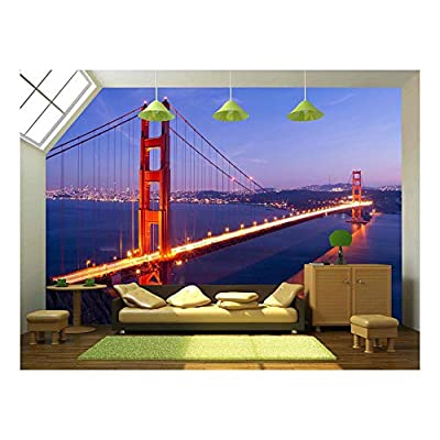 Pretty Piece, Golden Gate Bridge at Twilight San Francisco Usa, Created By a Professional Artist