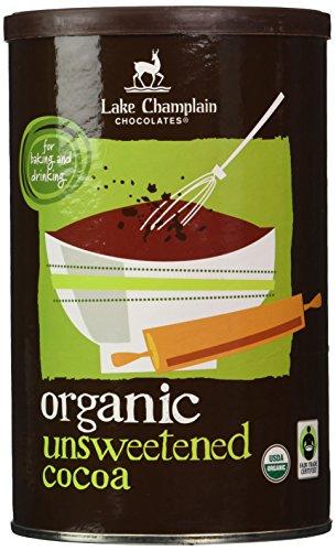 Lake Champlain Chocolates Organic Unsweetened Cocoa (Fair Trade Certified), 10 Ounces