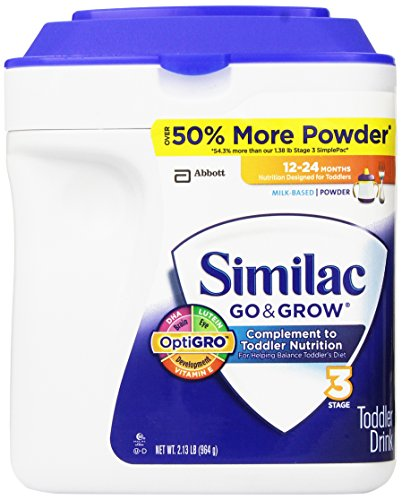 Similac - Go & Grow Infant Formula, 34 oz. (2.13 lb) - 1 pk.