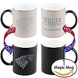 Telhas Gifts Game of Thrones Winter Is Coming Heat Sensitive Mug