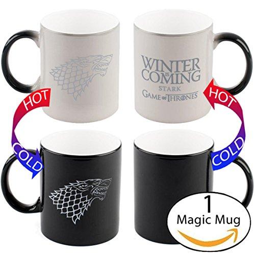 Telhas Gifts Game of Thrones Winter Is Coming Heat Sensitive