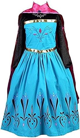 La Señorita Disfraz de Elsa Princesa de Las Nieves Vestido de ...