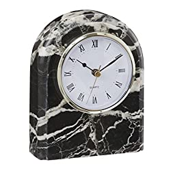 Polaris clock Black Zebra Marble (BZ)