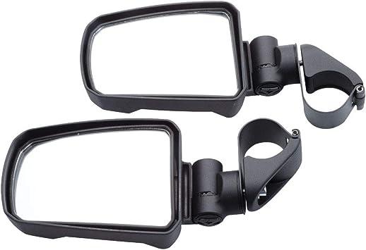 RED STRIKE Seizmik Break-Away Side Mirrors Pro-Fit Polaris General 1000