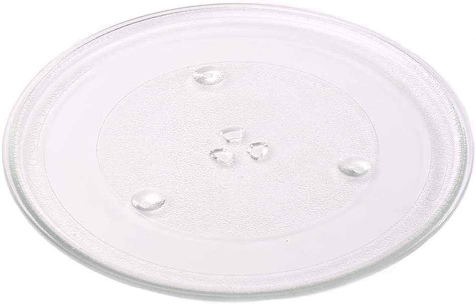 The Exact Replacement Part for Samsung, GE and Hotpoint 12.5'' Microwave Glass Tray- WB39X10002/ WB48X10005/ WB49X10069/ WB39X10003 – Dishwasher Safe