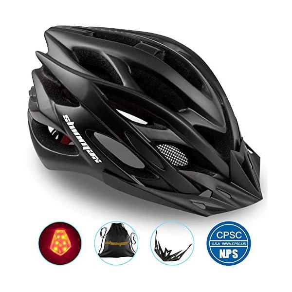 Basecamp Specialized Bike Helmet, Bicycle Helmet CPSC&CE Certified with Helmet...