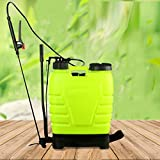 Meditool Portable 4 Gallon Pressure Sprayer Knapsack, 16L Pump Backpack Sprayer For Fertilizer, Herbicides, Pesticides and Common Household Cleaners (4G/16L)