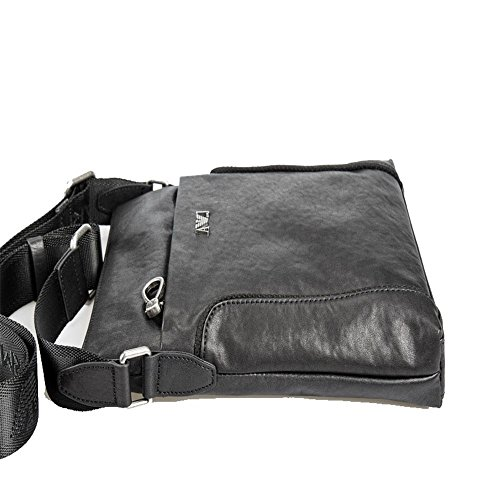 il Top Auming Bag Chest Lightweight tempo Vintage Men Shoulder Shoulder libero Casual Leather per wYPqYaHSr
