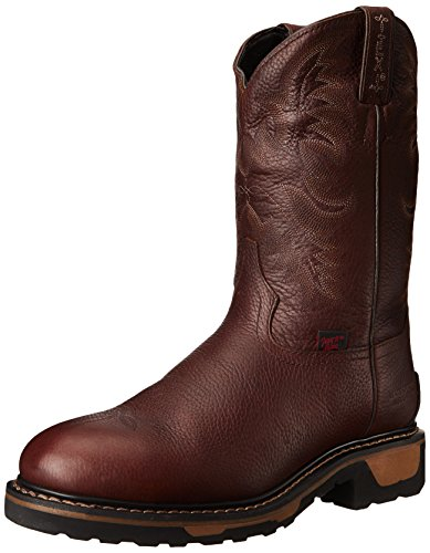 Briar Pit Stop (Tony Lama Boots Men's Steel Toe TW 1057 Work Boot,Briar Pitstop,10.5 D US)