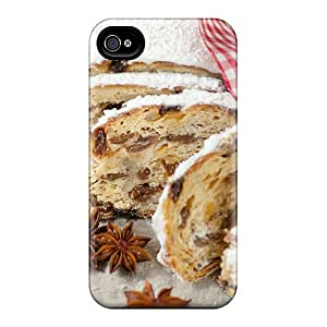 High Quality Shock Absorbing Case For Iphone 4/4s-holidays Cakes