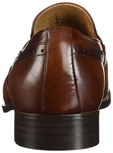 Stacy Adams Heren Shaw Moc Teen Bit Slip-on Loafer Cognac