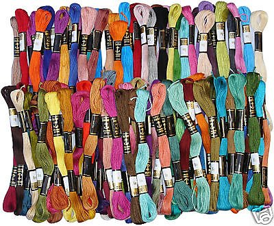 100 Anchor Cross Stitch Embroidery Thread Floss