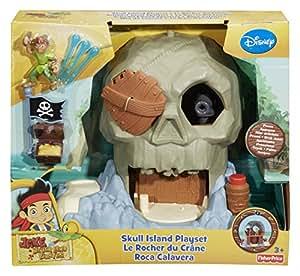 Jake y los Piratas - Set de Juego, Roca Calavera (Mattel