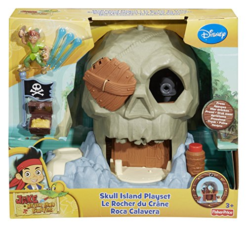Pirate Island Adventure (Fisher-Price Disney's Jake and The Never Land Pirates Skull Island)