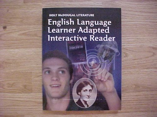 (Holt McDougal Literature: Ell Adapted Interactive Reader Grade 12 British Literature )