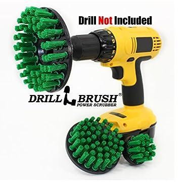Power Rotary Cleaning Nylon Bristle Drill Scrub Brush