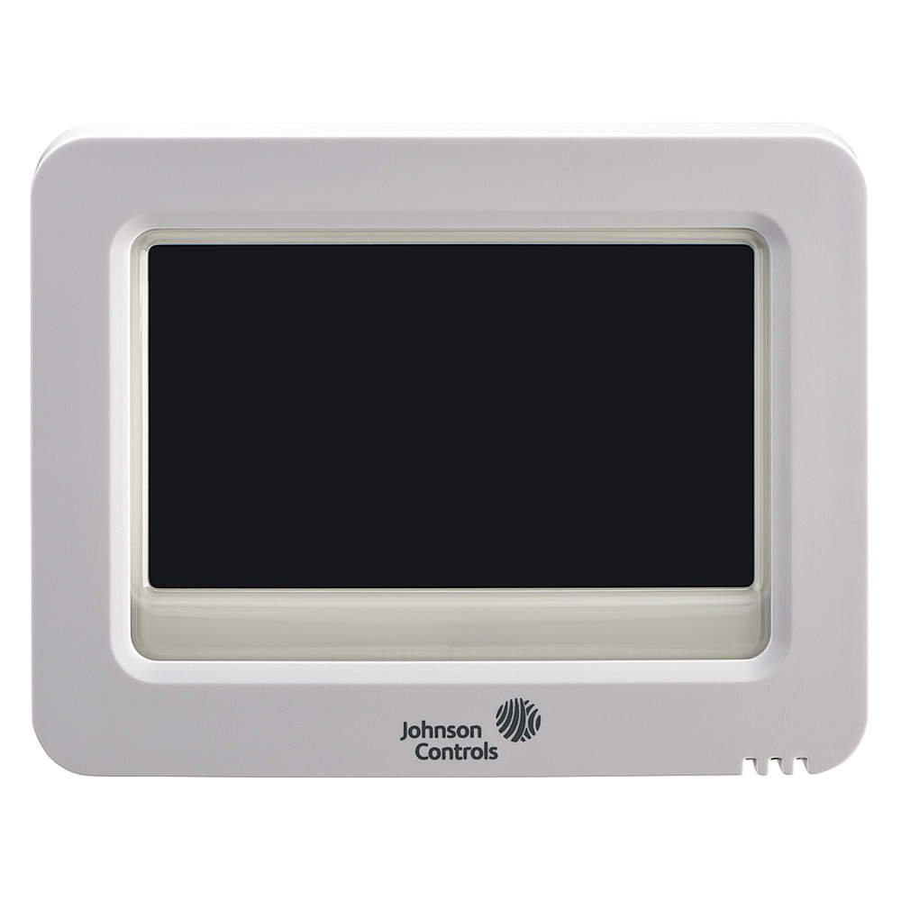 Johnson Controls T8590 Residential High-Resolution Color Touch Screen Digital Room Thermostat with Humidity Control Johnson Controls Inc