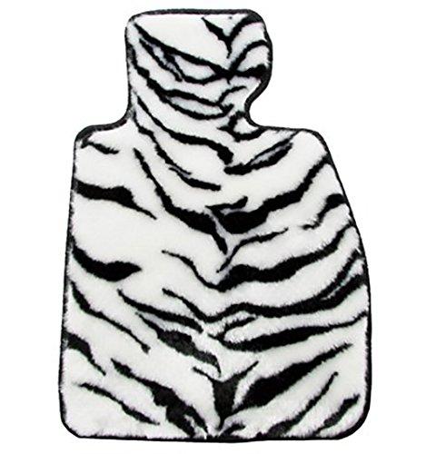 ZEROフロアマット フロアマット ニッサン NOTE H24/9~ E12、NE12 用 アニマルクーガー TIGER WHITE ヒールパッド付 B0101JNK8S アニマルクーガー×TIGER WHITE アニマルクーガー×TIGER WHITE