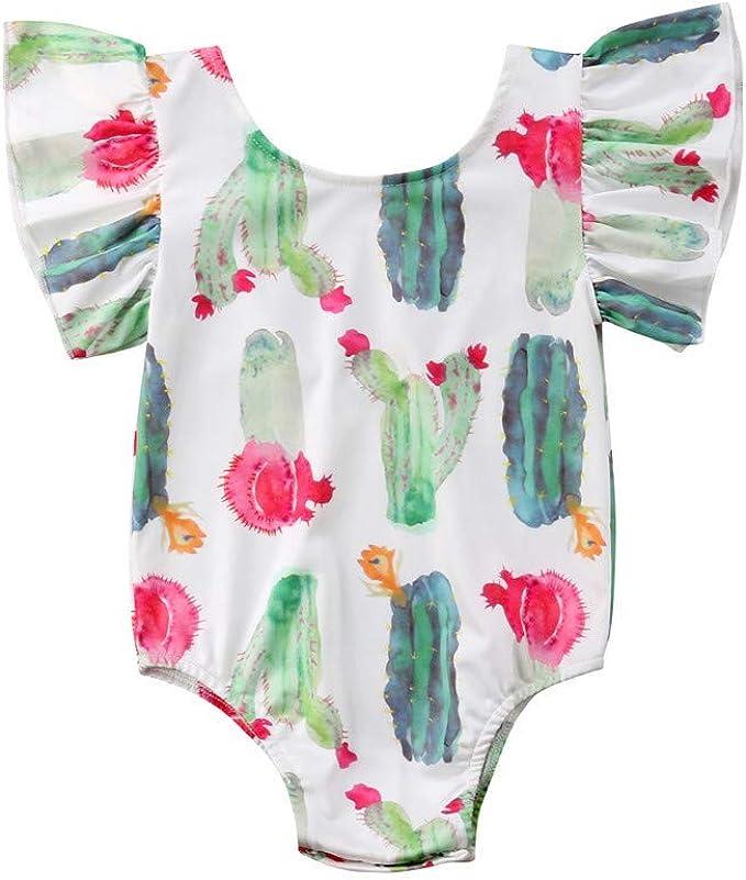 Age 0 1 2 3 6 9 Months Footless Zip Baby Orange Cactus Babygrow Sleepsuit