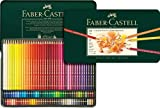 all city paint - Faber-Castell Polychromos Artists' Color Pencils - Tin of 120 Colors - Premium Quality Artist Pencils