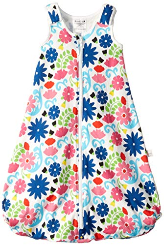 Ergobaby 2 in 1 Sleeping Bag with Feet, French Bull - Flores, Medium: 6-18 Months