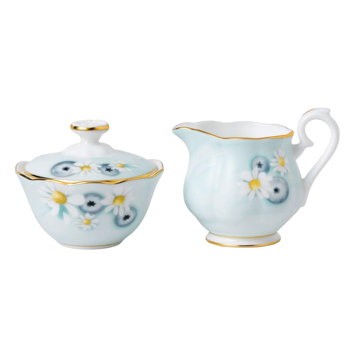Royal Albert Alpha Foodie Mini Creamer & Sugar Set Turquoise