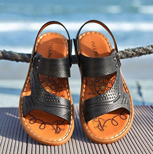 Ocasionales Sandalias De Los Sandalias Sandalias Hombres De Playa Blue Respirables q1n0wH