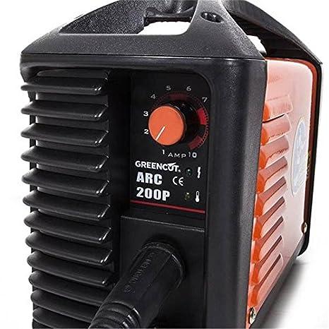 Soldadora inverter turboventilada de 200 amperios | Soldadores Inverter: Amazon.es: Electrónica