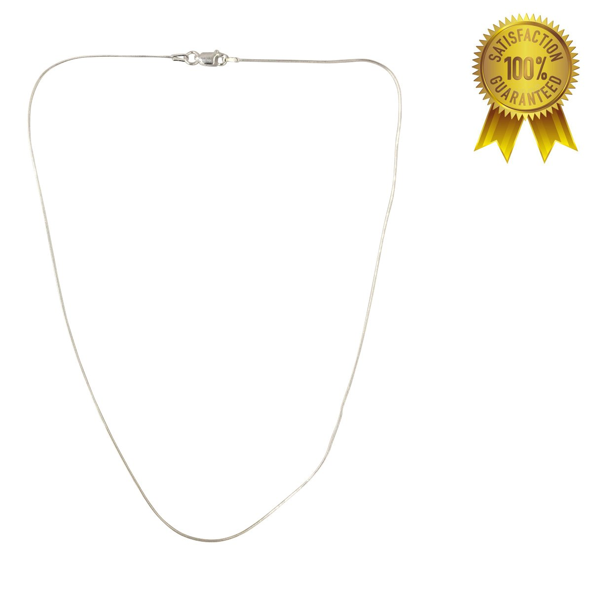 H & I Jewelers Sterling Silver 925 Italy Round Snake Chain 1.00MM 16'' - 24''