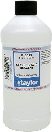 TAYLOR TECHNOLOGIES INC R-0013-E CYANURIC ACID 16 OZ