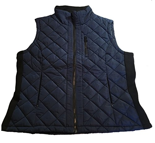 Womens Poly Fill Quilted Vest - 1