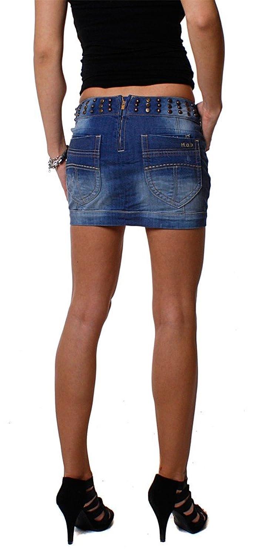 M.O.D Monopol MOD Jeans Mini Rock LEXY AU10-SK104, Grösse:XS;Farbe:Blau:  Amazon.de: Bekleidung