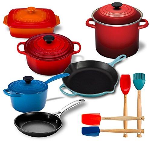 Le Creuset 14 Piece Kitchen Essentials Set