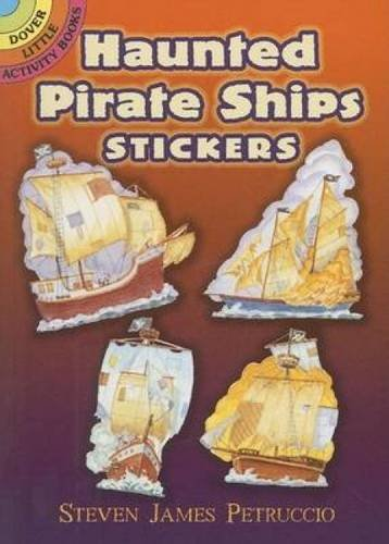 Haunted Pirate Ships Stickers (Dover Little Activity Books Stickers)
