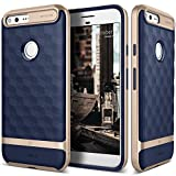 TNSO CO-GPX-ARM-NV Caseology Parallax for Google Pixel Case (2016) - Award Winning Design - Navy Blue, 7 Pack