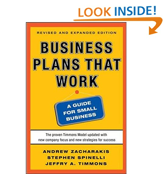 Business Plan Guide For Small Business AmazonCom