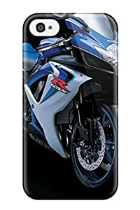 Hot New Arrival Premium Iphone 4/4s Case(suzuki R Gsx Bike) 6792681K77016131