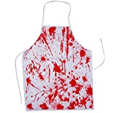 Butcher Halloween Costume - 3 Pc Butcher Halloween Party Accessories Apron, Hat & Knife by Tigerdoe