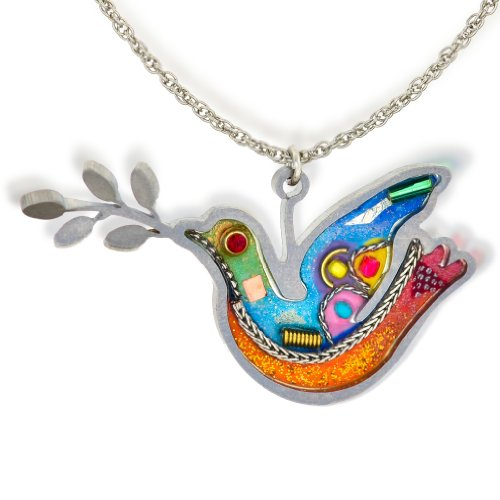Dove Pendant - Seeka Turquoise Peace Dove Fashion Necklace Curated and sold by The Artazia Collection N0062OR