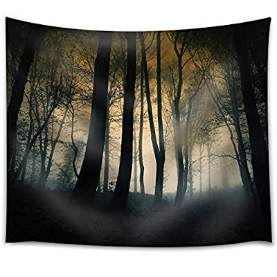 Marvelous Expert Craftsmanship, Premium Product, Dark Forest in a Foggy Day