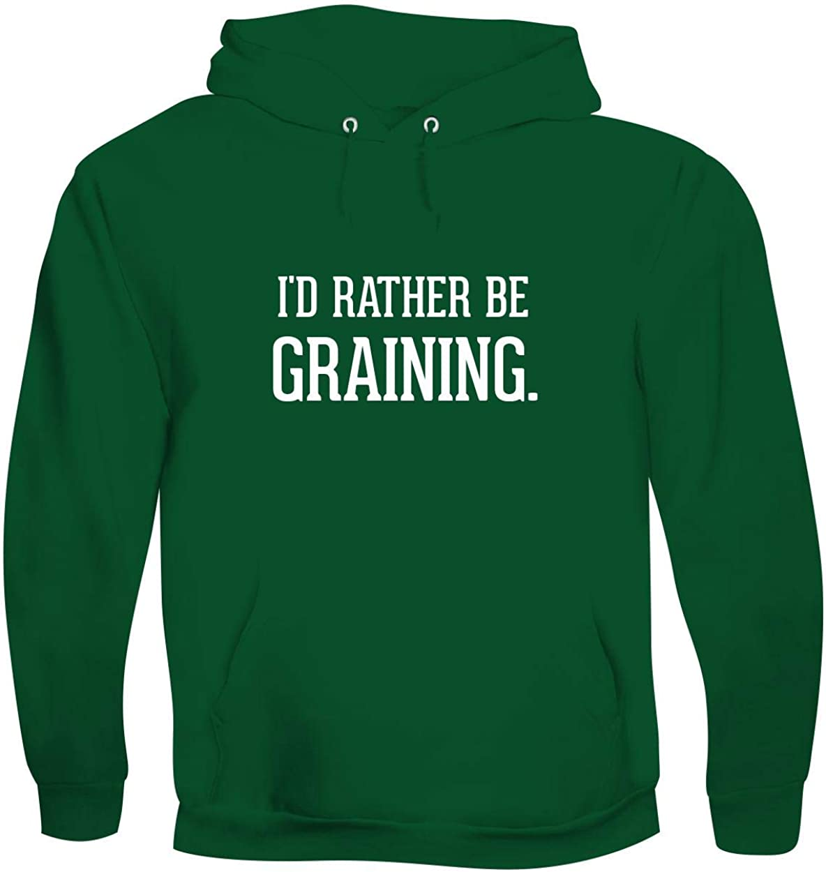 I'd Rather Be GRAINING. - Men's Soft & Comfortable Pullover Hoodie