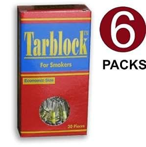 Tarblock Cigarette Filters 6 Pack