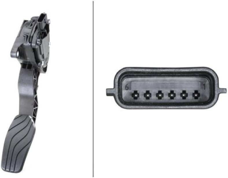 HELLA 6PV 009 978-791 Sensor, posición pedal - para vehic. dirección izquierda - Caja de cambios manual