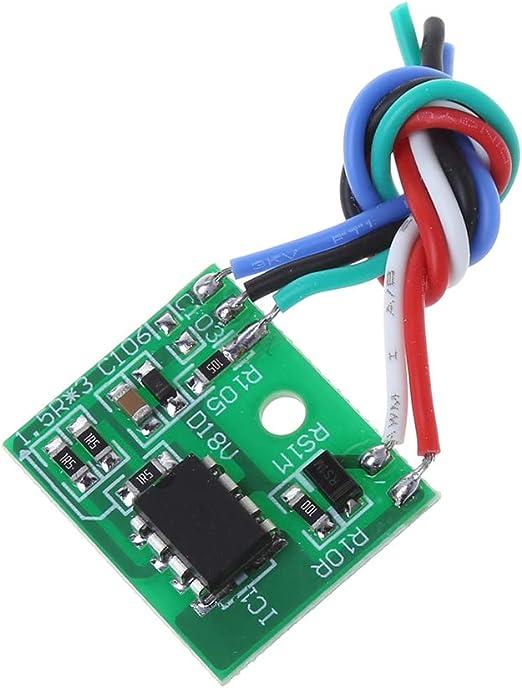 BIlinli Módulo de Fuente de alimentación Universal LCD 5V-24V ...