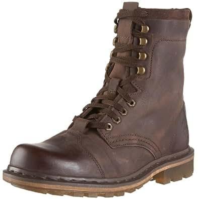 Dr martens men 39 s pier boot dark brown 6 uk for Amazon dr martens