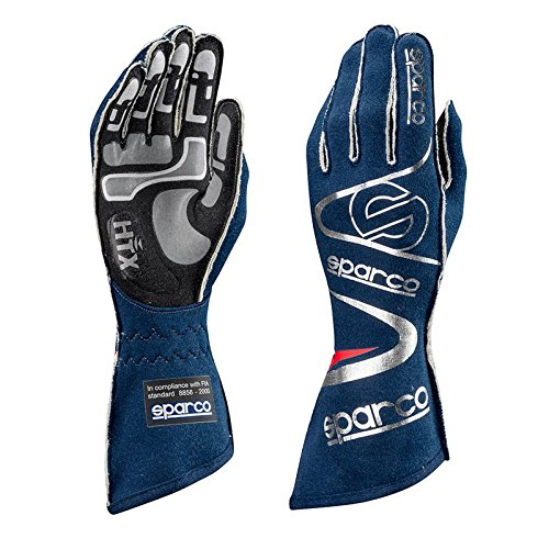 Sparco 001352A07BM Sparco- Nomex Gloves, Arrow 07 Navy 0KCD1 by Sparco (Image #1)