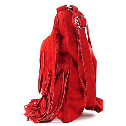 Bolso Italiano De Cuero Comprador Roja De Las T02 Bolso Verdadera Del Mano Bolsa De De Ante Mujeres RdvHdr