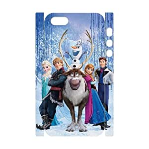 YYCASE Cell phone Protection Cover 3D Case Frozen For Iphone 5,5S